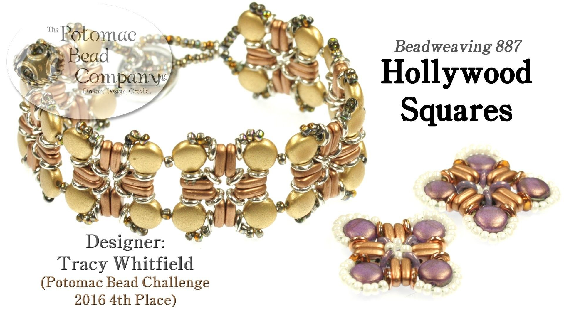 Hollywood squares bracelet tutorial tutorials squares and bracelets