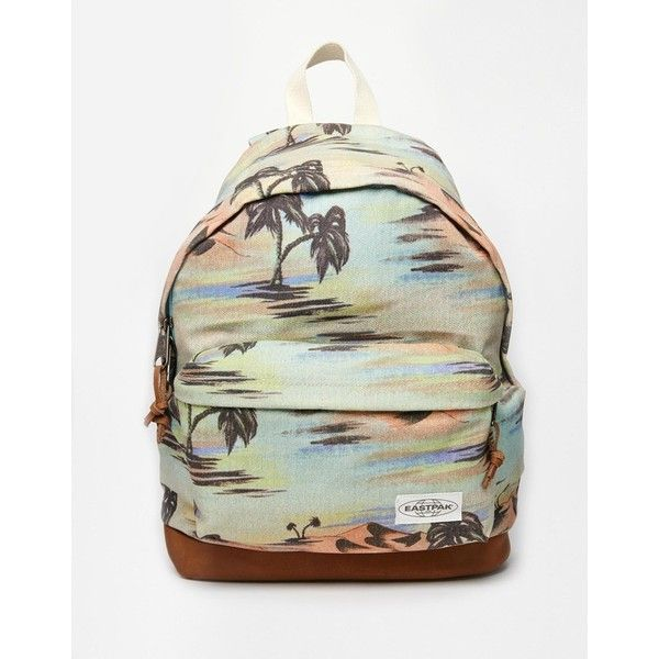 a853baecf907 Eastpak Printed Wyoming Backpack ( 74) ❤ liked on Polyvore featuring bags