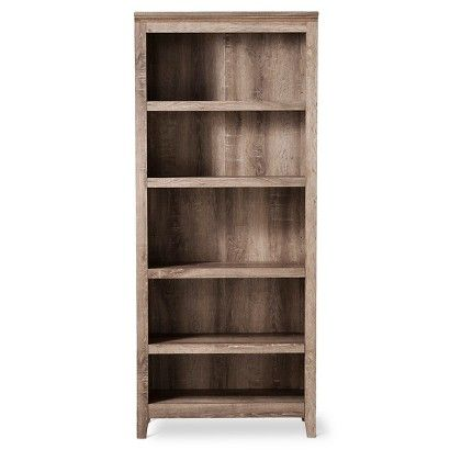threshold carson 5 shelf bookcase rustic new house ideas pinterest shelves room and. Black Bedroom Furniture Sets. Home Design Ideas