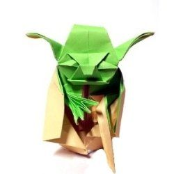 Free star wars origami diagrams where you can make your own origami yoda, origami darth vader, star destroyer, origami millennium falcon, r2d2,...