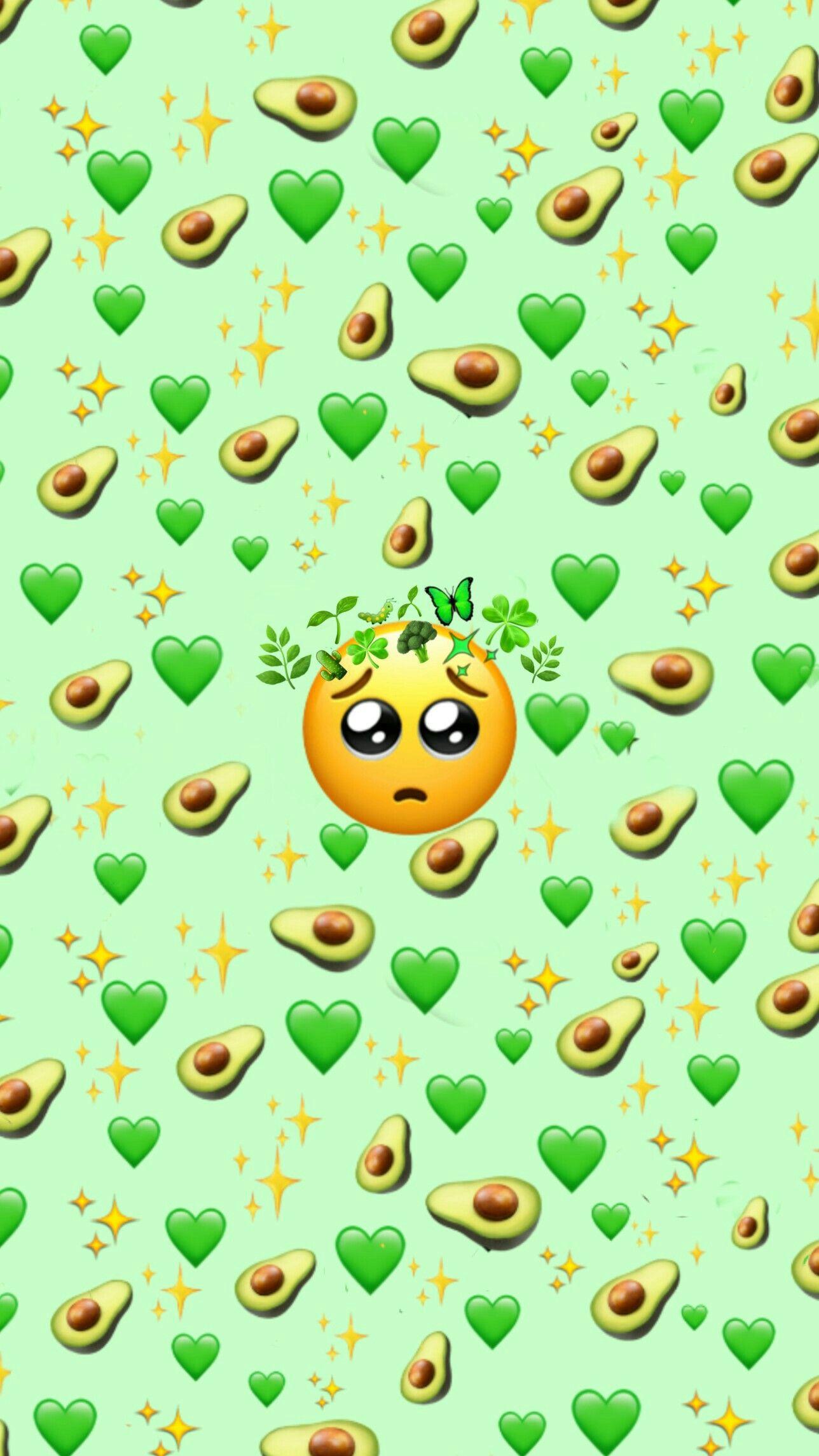 Green Emoji Background Emoji Wallpaper Iphone Emoji Wallpaper Cute Emoji Wallpaper