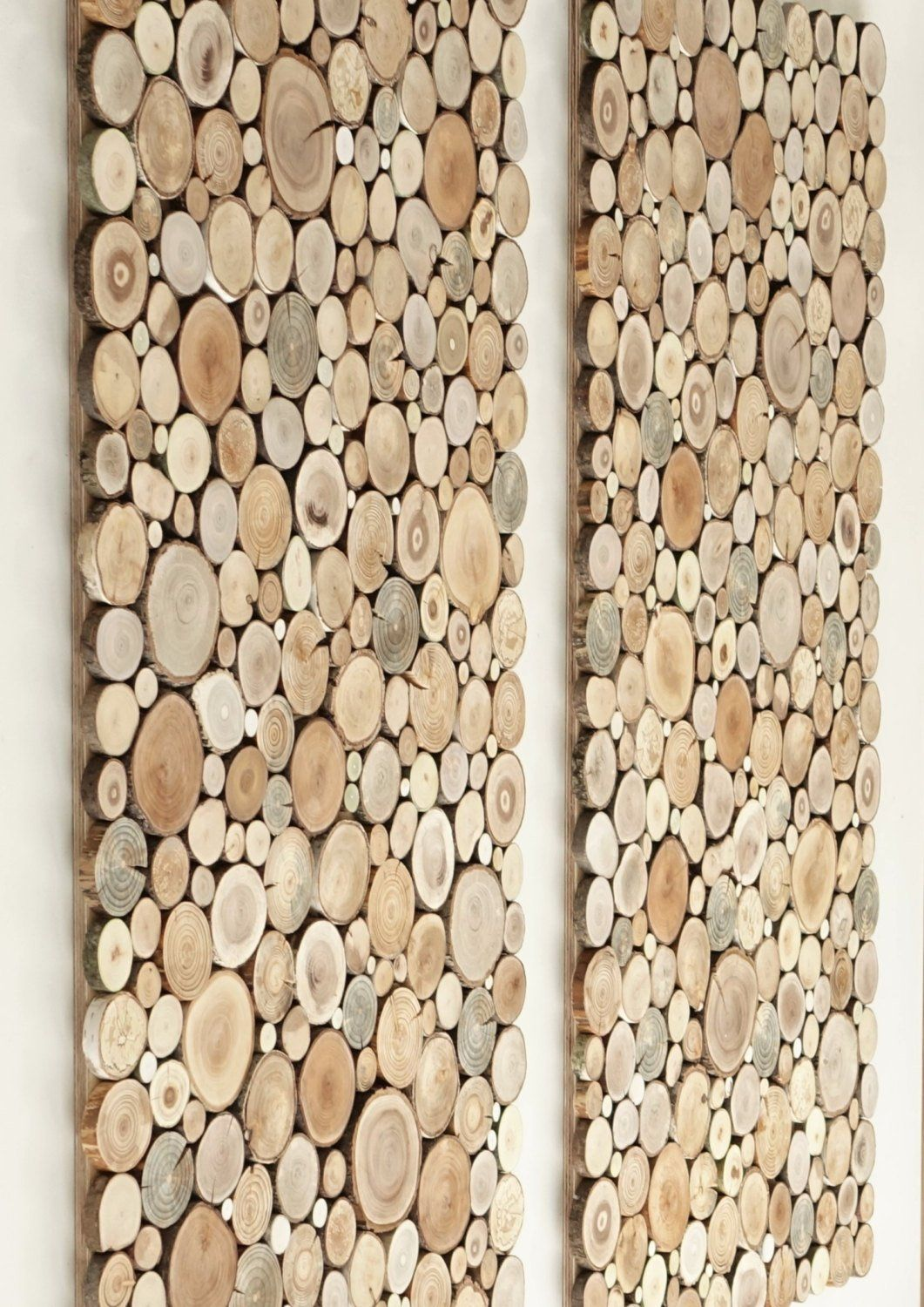 Wooden wall art uk a set of tree rounds decor tree slice wall