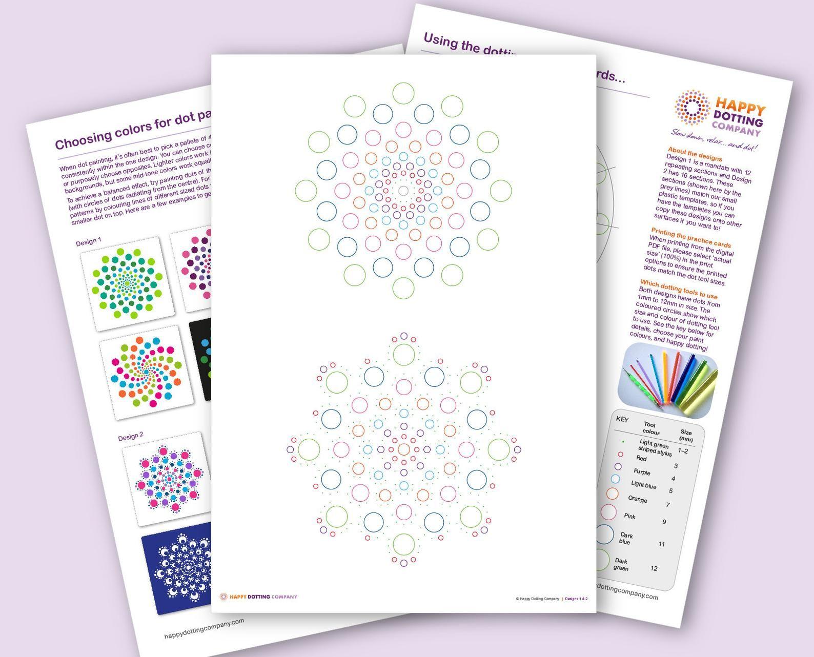 Pdf Download Mandala Patterns Printable In 2021 Dot Painting Tools Dot Painting Mandala Stencils