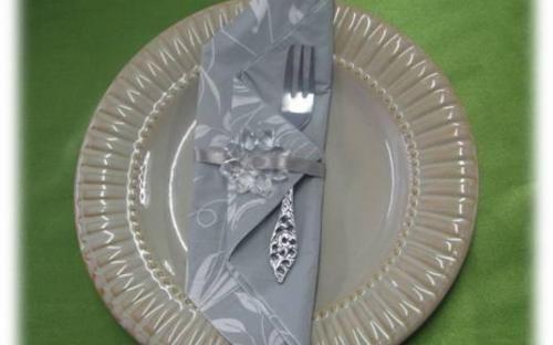 Serviette Ring Idea - Table settings