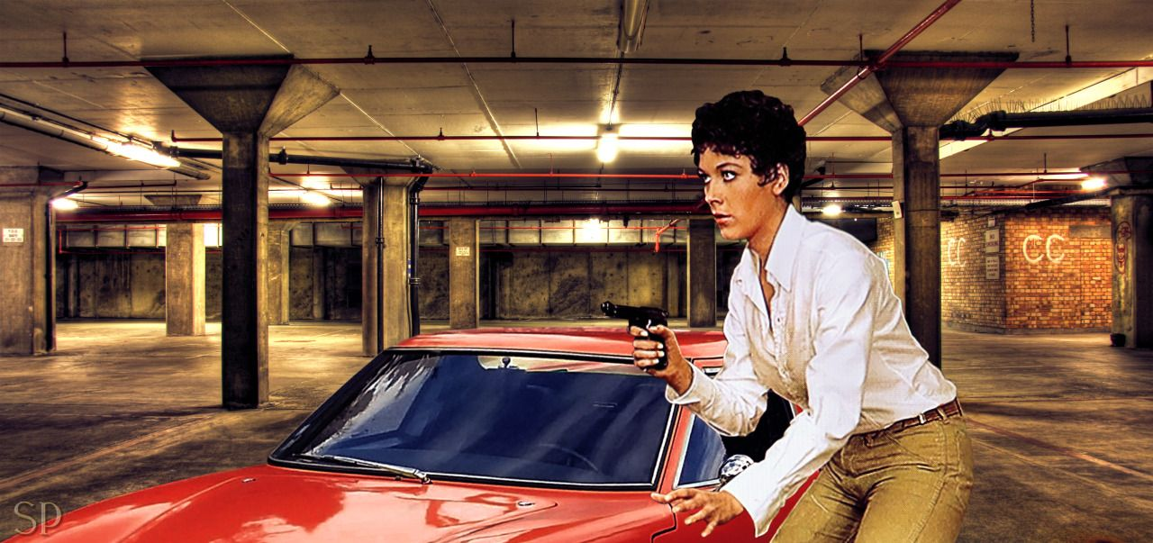 Linda Thorson as Tara King in the Avengers - fanpic by S.Potter