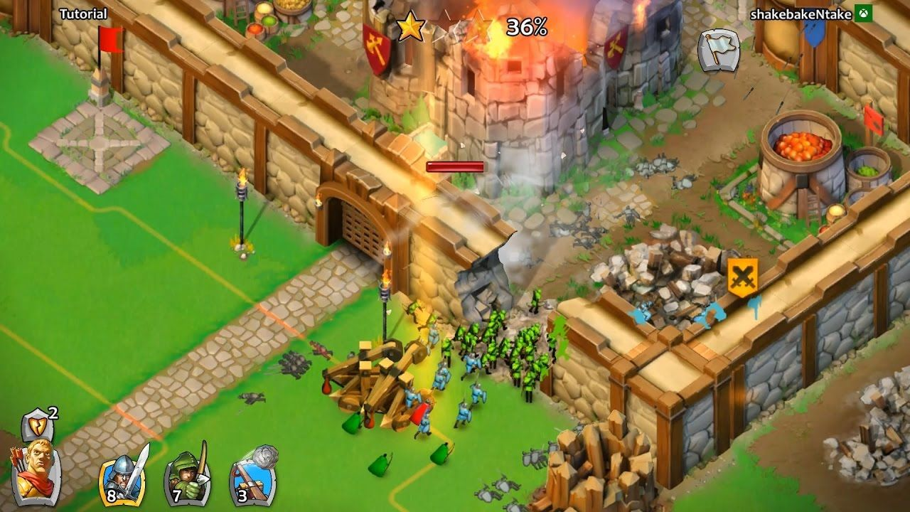 Age Of Empires Castle Seige 2017 Update Android Ios Pc Hd Gameplay