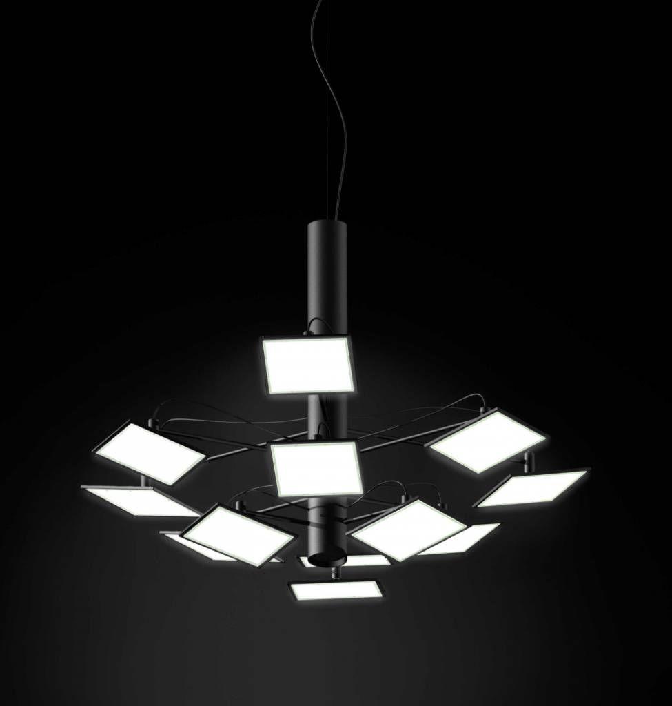 Adjust S12 Oled Pendant Lamp By Bernd Unrecht Lights 12 Oled Panels With Total Flux Of 1800lm Mit Bildern