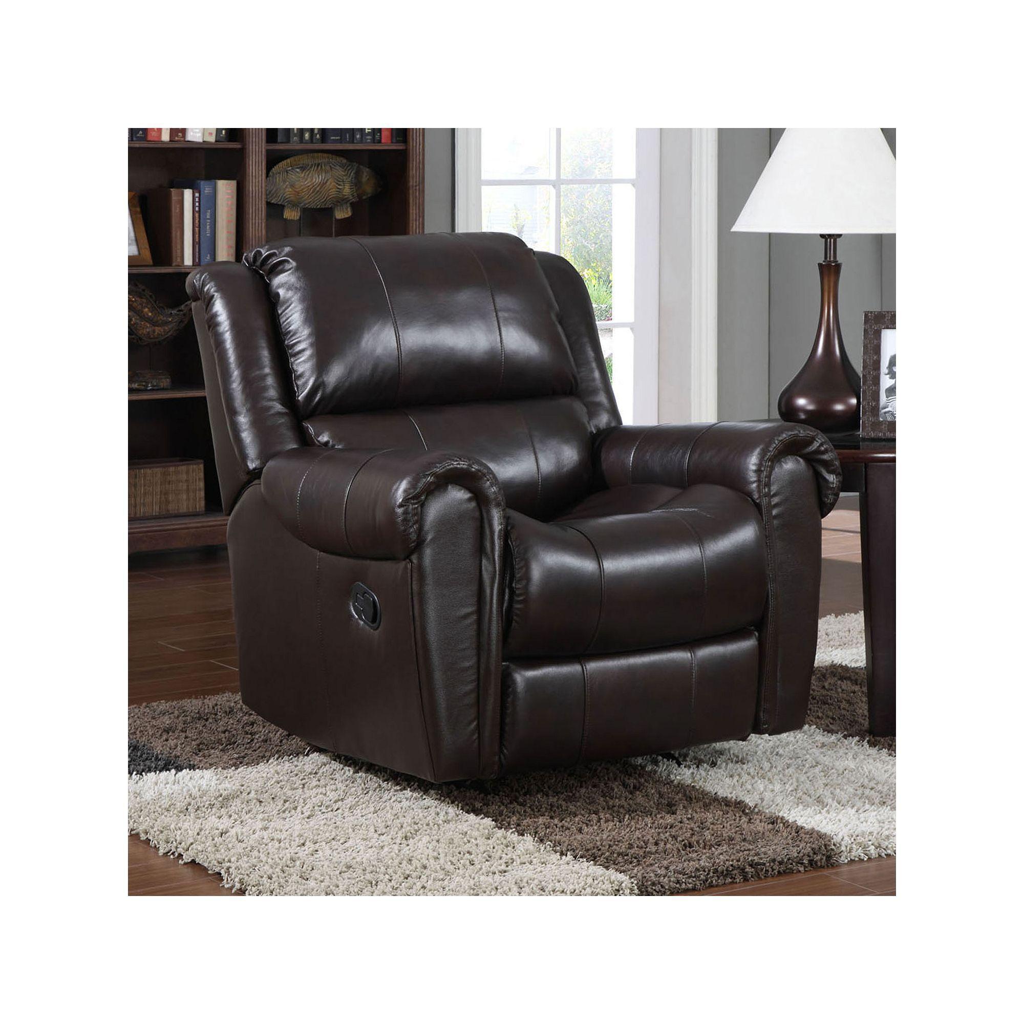 Pulaski Odie Rocker Recliner Chair, Brown reclinerchair