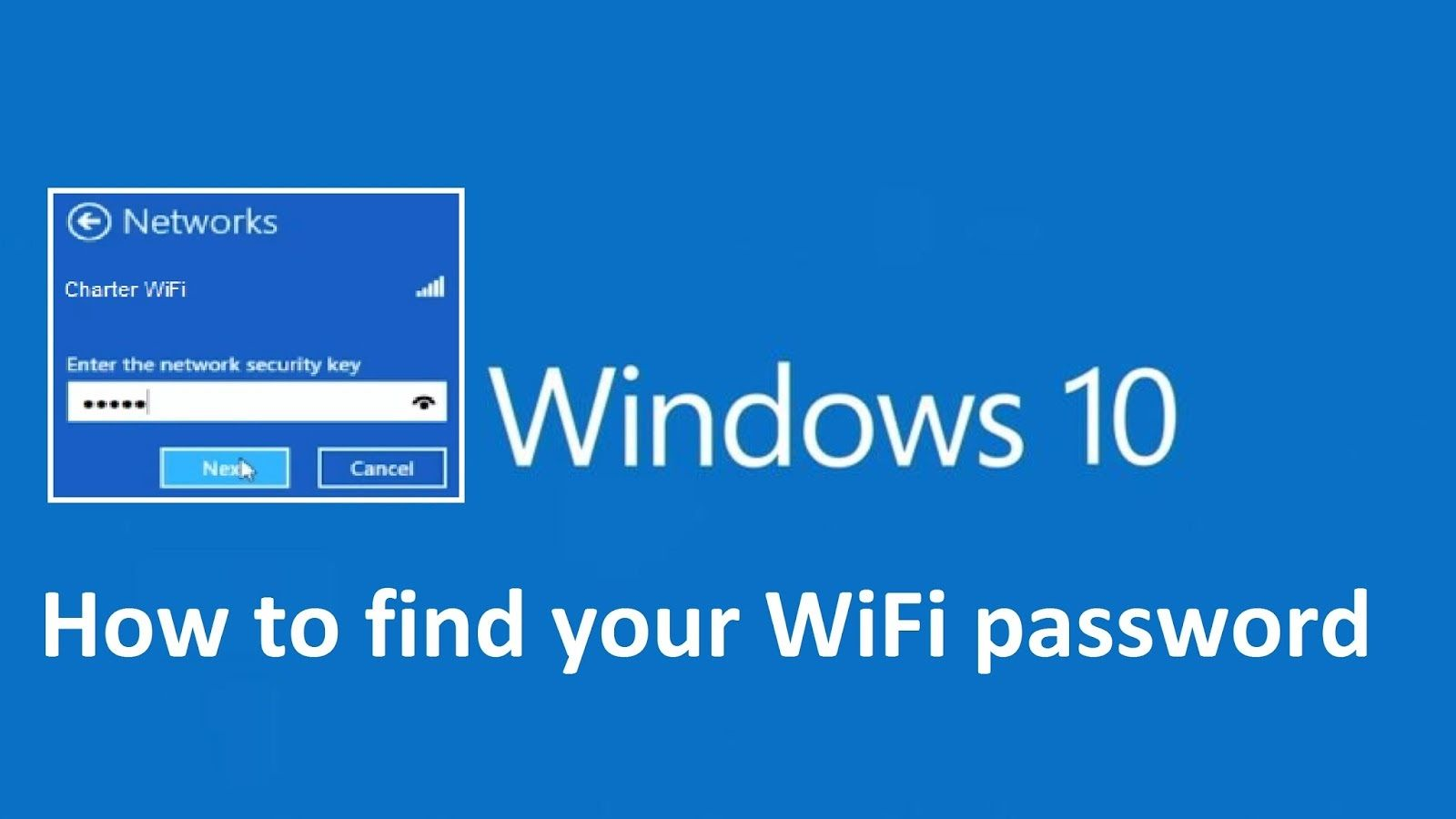 How To Find Your WiFi Network Password On Windows 10