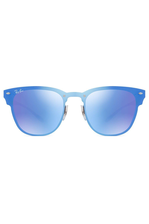ae58c877feadf Óculos de Sol Ray Ban Blaze Clubmaster RB3576N 153 7V-47   Products ...