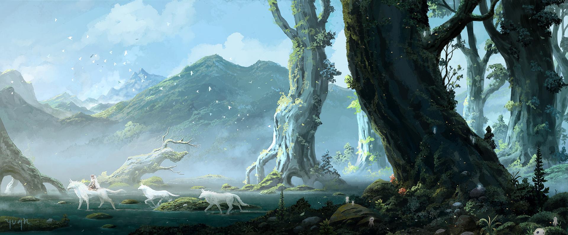 Digitalaurora Shop Redbubble In 2020 Princess Mononoke Wallpaper Princess Mononoke Studio Ghibli