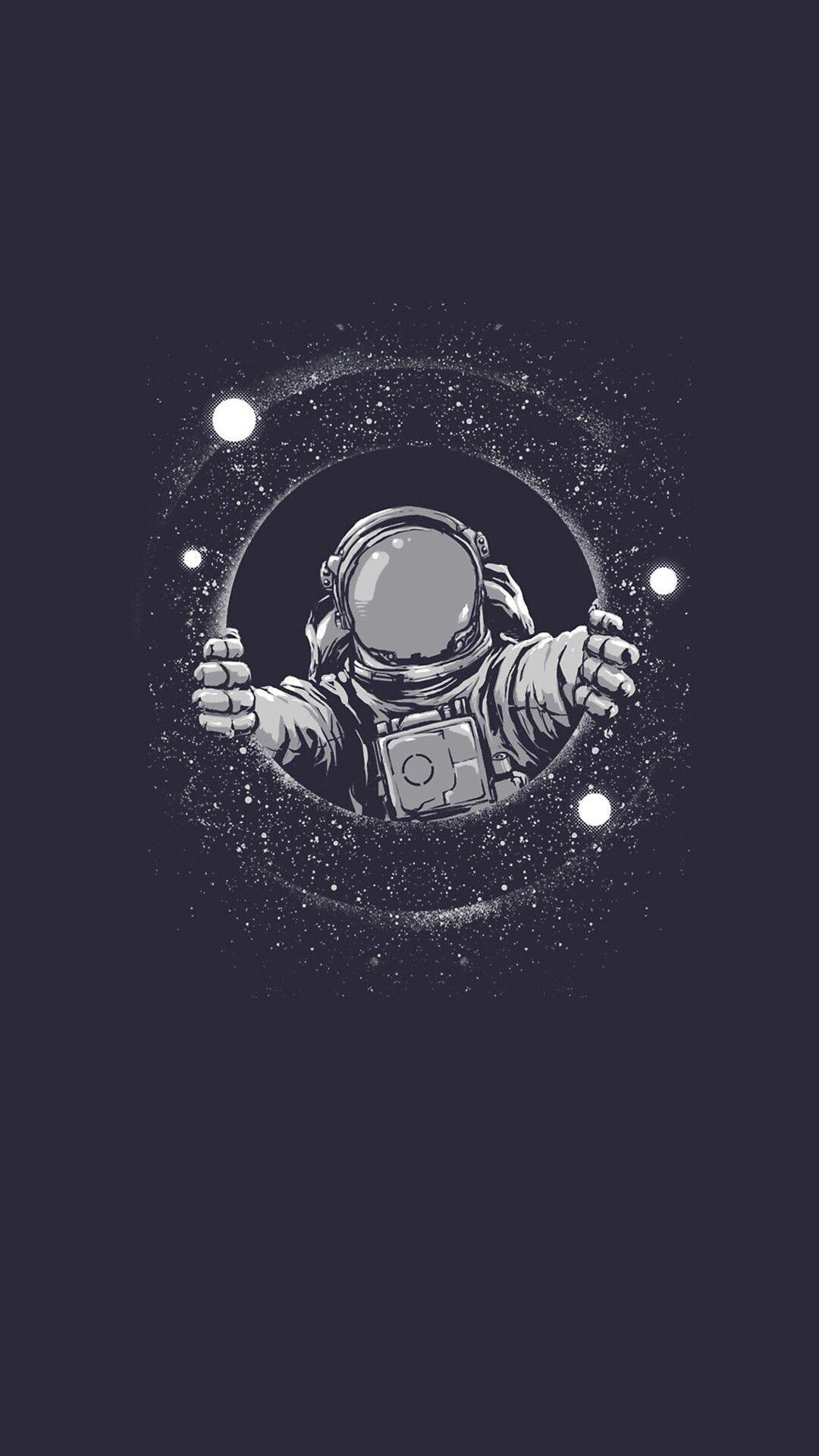Background Background Background Preto Backgroundpreto Free Idea Astronaut Wallpaper Space Drawings Black Wallpaper Iphone