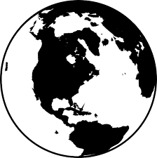 Image Result For Earth Clipart Black And White Clipart Black And White Clip Art Globe Clipart