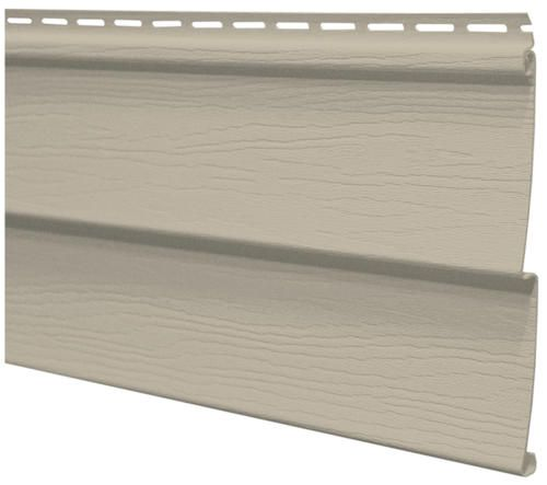 Cedar Creek Double 4 Vinyl Siding At Menards Vinyl Siding Grey Vinyl Siding Vinyl House
