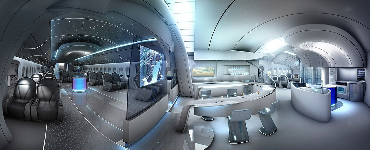 Aircraft Interior Design By Till Nowak 3d Cgsociety With