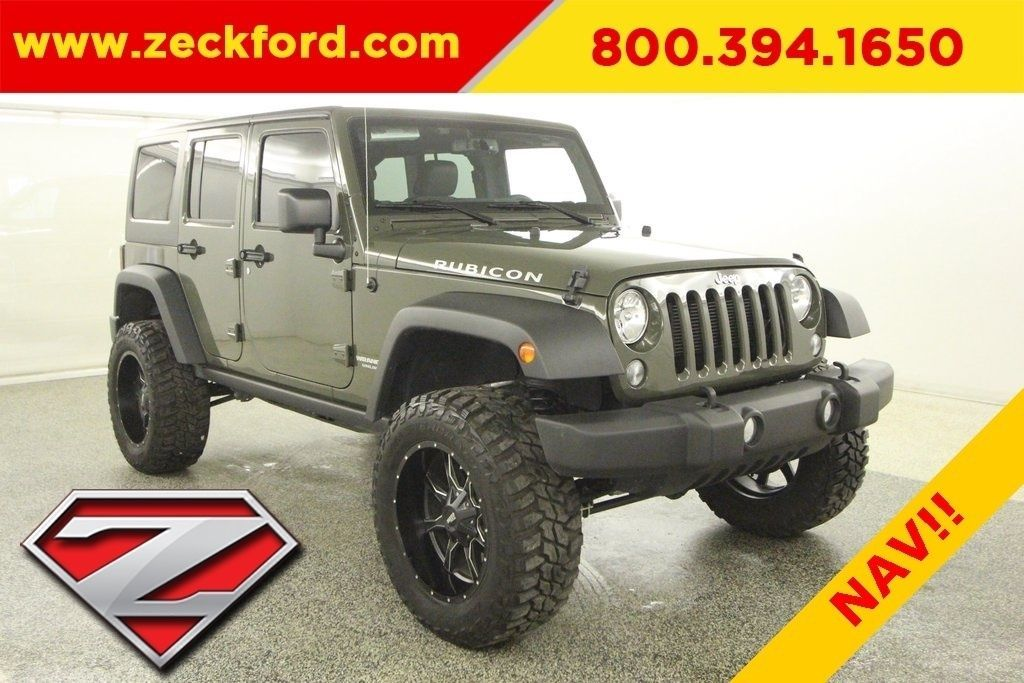 Car brand auctionedJeep Wrangler Unlimited Rubicon NAV