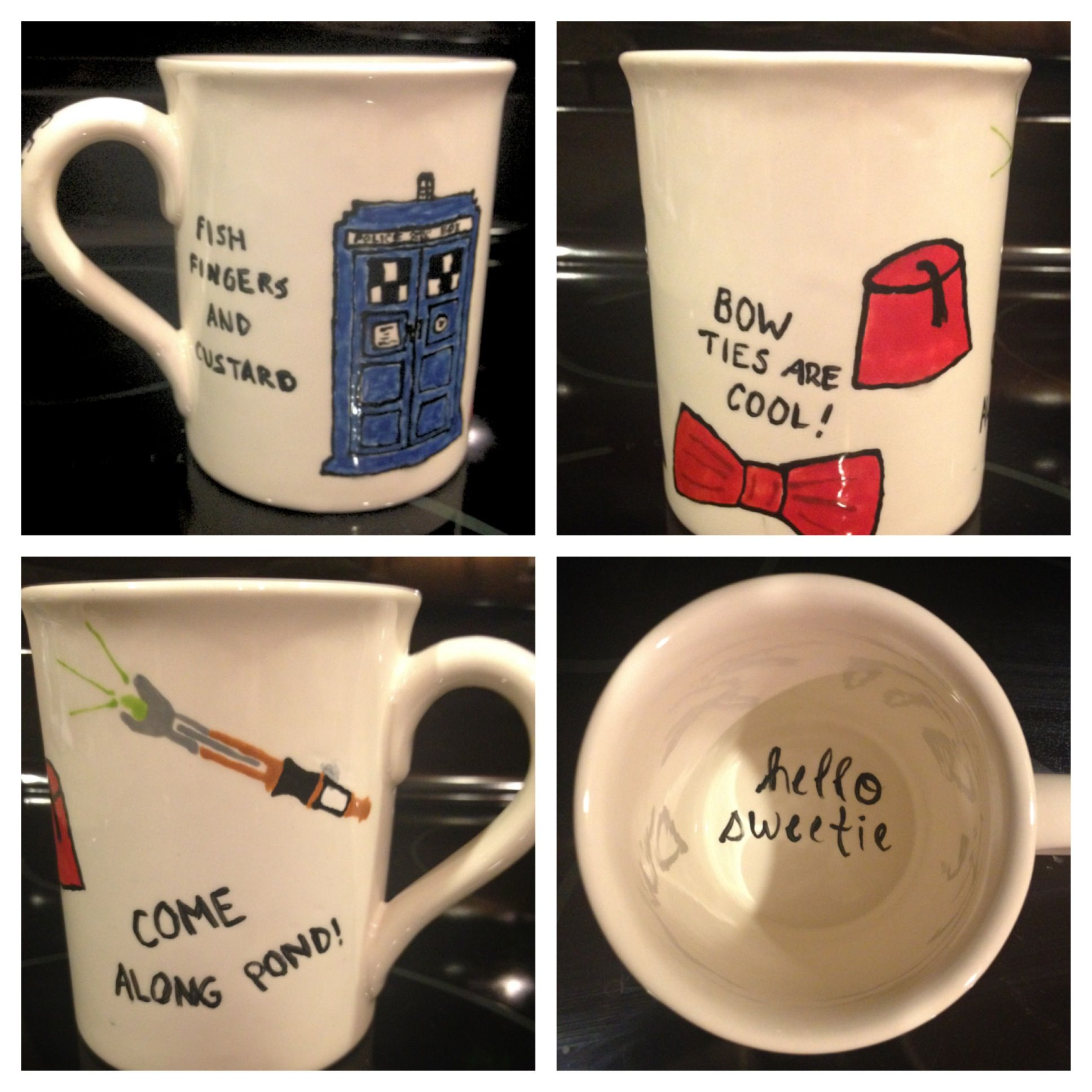 My Doctor Who coffee mug. Hello Sweetie! | I am a Nerd ...