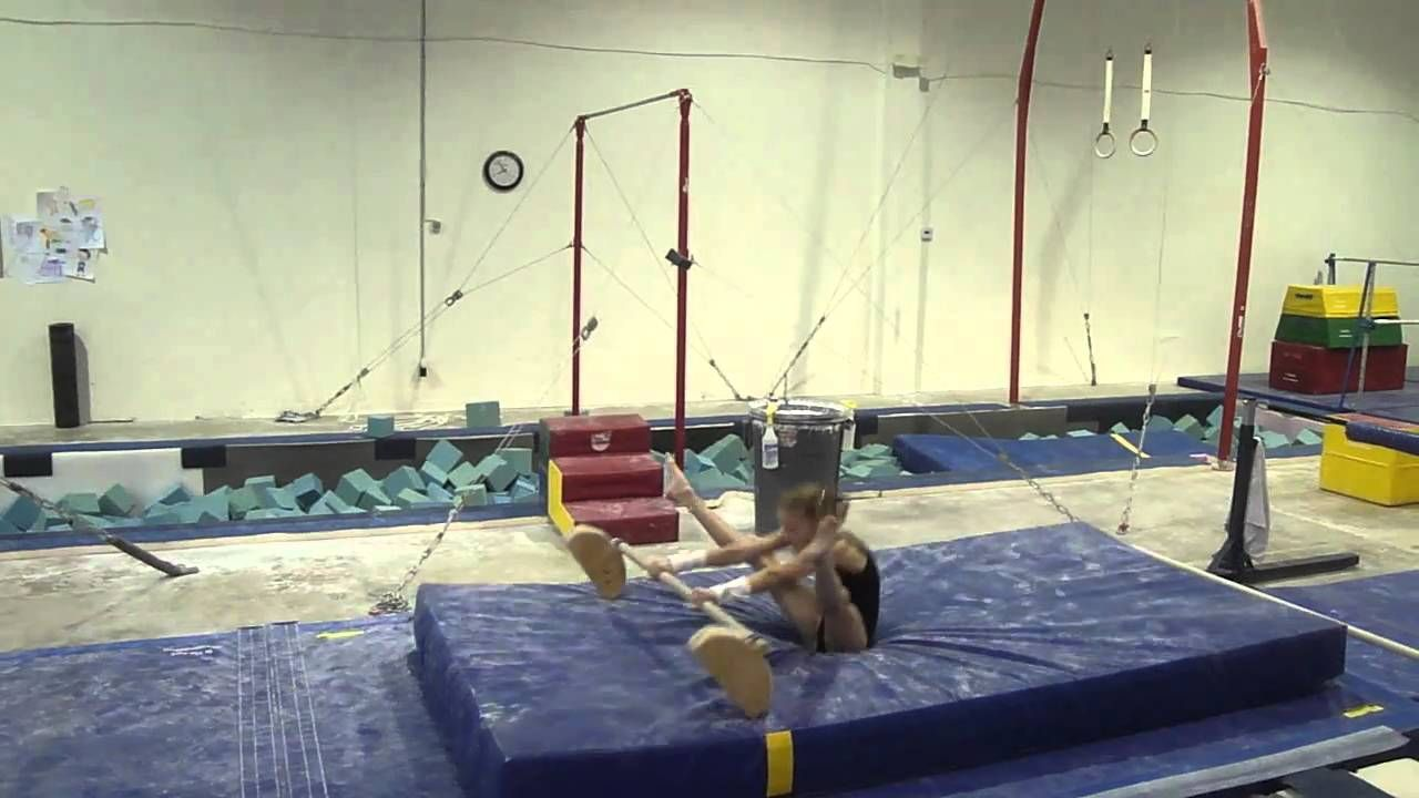 Inbar Drills On Floor Bar Gymnastics Drill Bar Flooring
