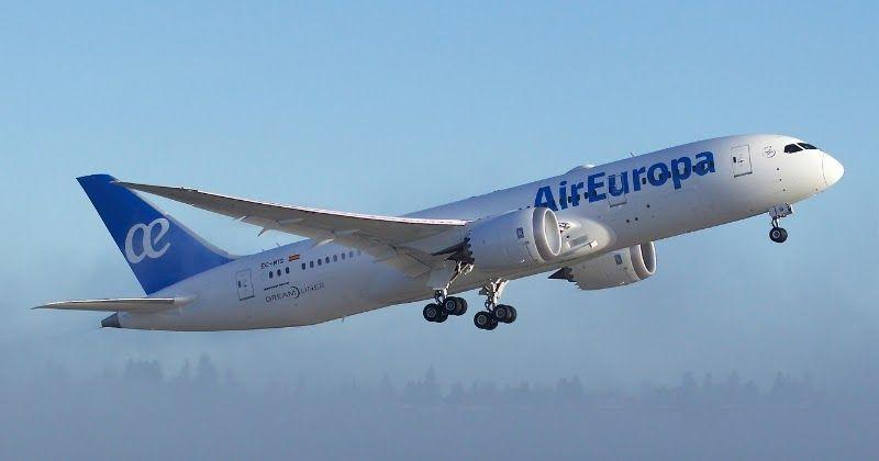 Air Europa recebe o primeiro 787 Dreamliner