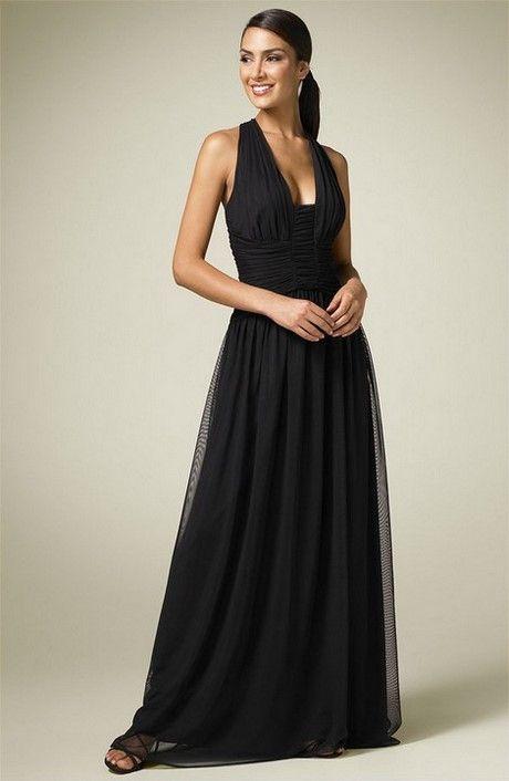prezzo di fabbrica 83298 1324c Vestiti lunghi eleganti neri | Stile e bellezza | abito da ...