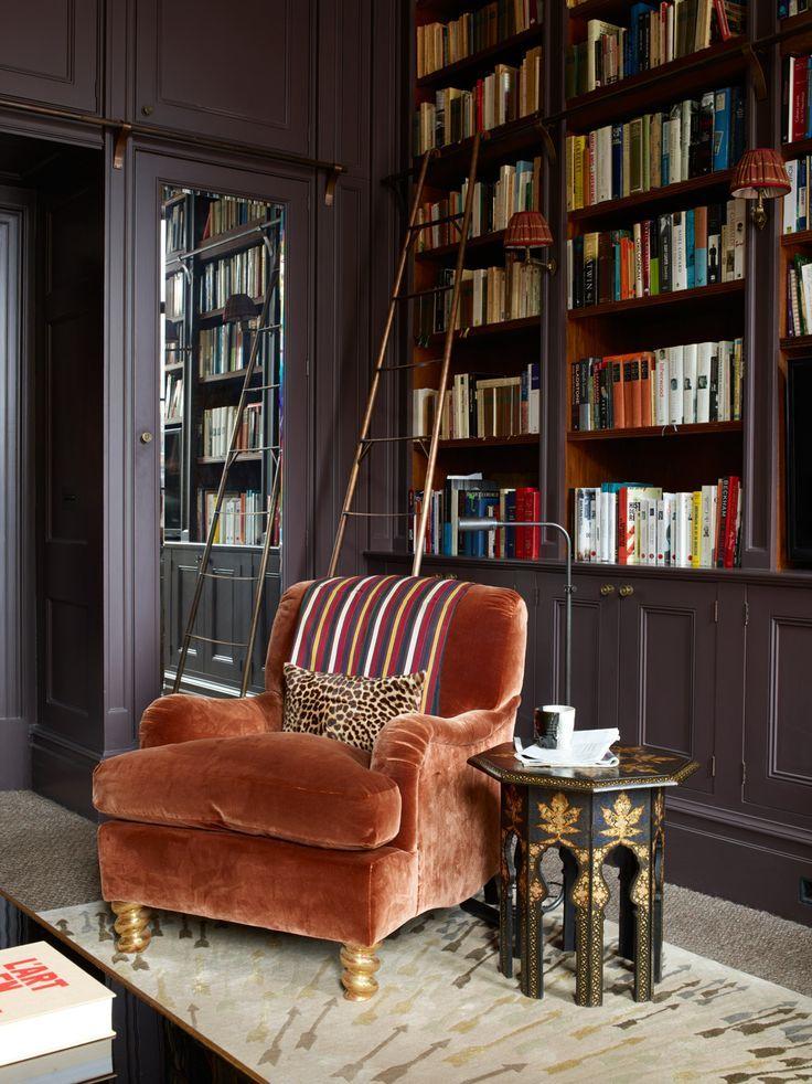 quoi de mieux qu 39 un fauteuil anglais confortable pour lire en toute qui tude idees deco. Black Bedroom Furniture Sets. Home Design Ideas