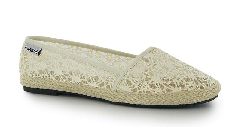 Kangol Canvas Shoes Lace White