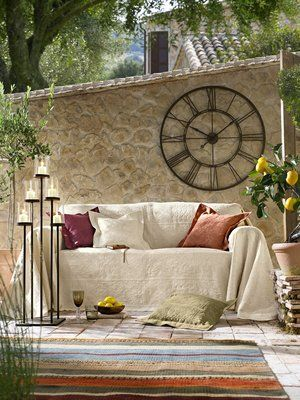 wanduhr home sweet home pinterest wohnen garten und wanduhren. Black Bedroom Furniture Sets. Home Design Ideas