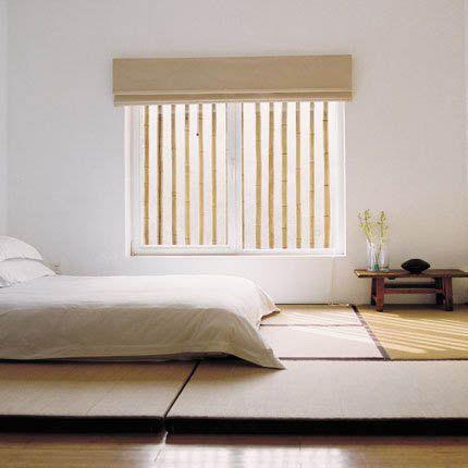 Déco zen japonaise : Une chambre claire aux inspirations du ...