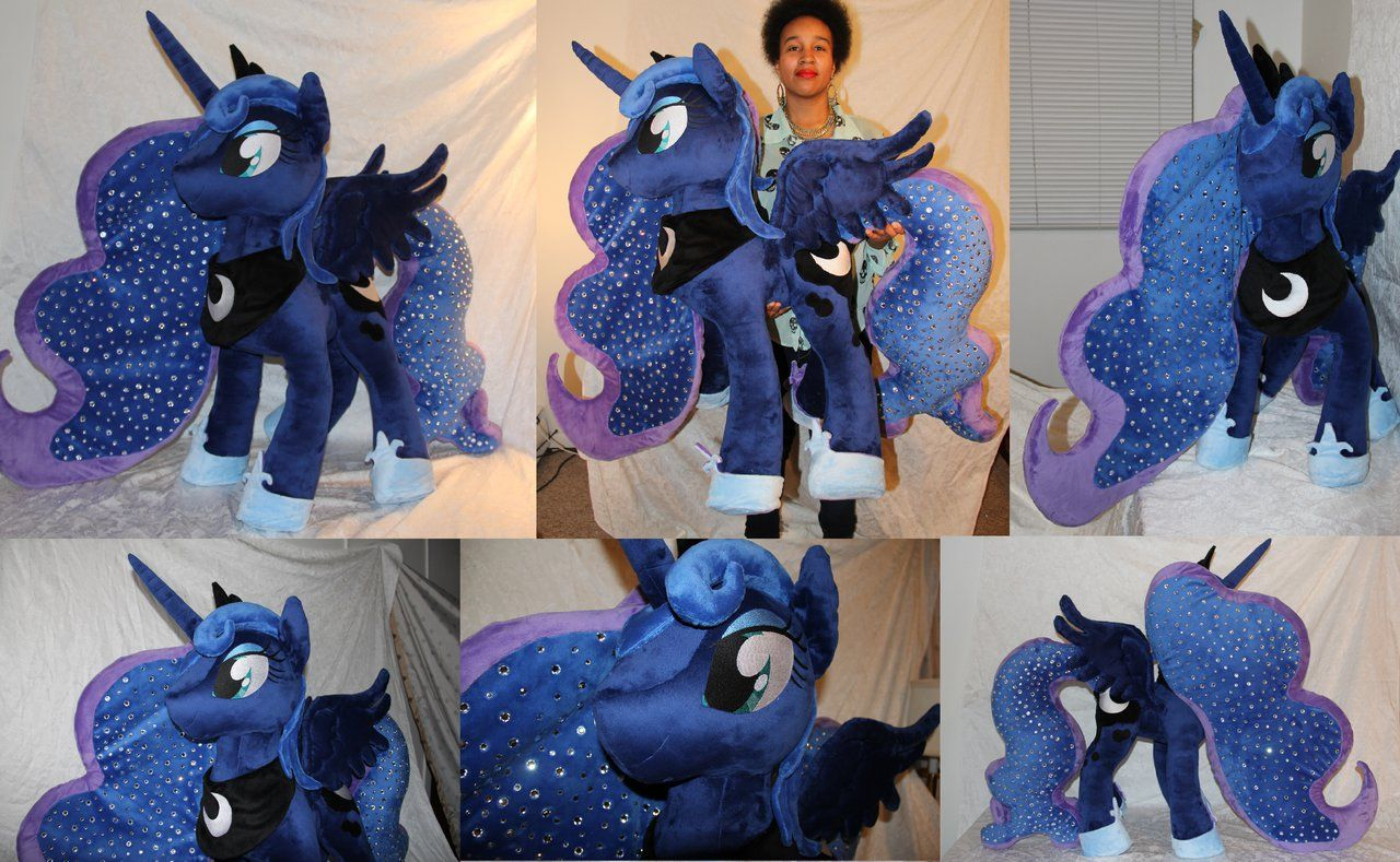 Giant Princess Luna Plush 38 Inches For Sale By Dreamangel686