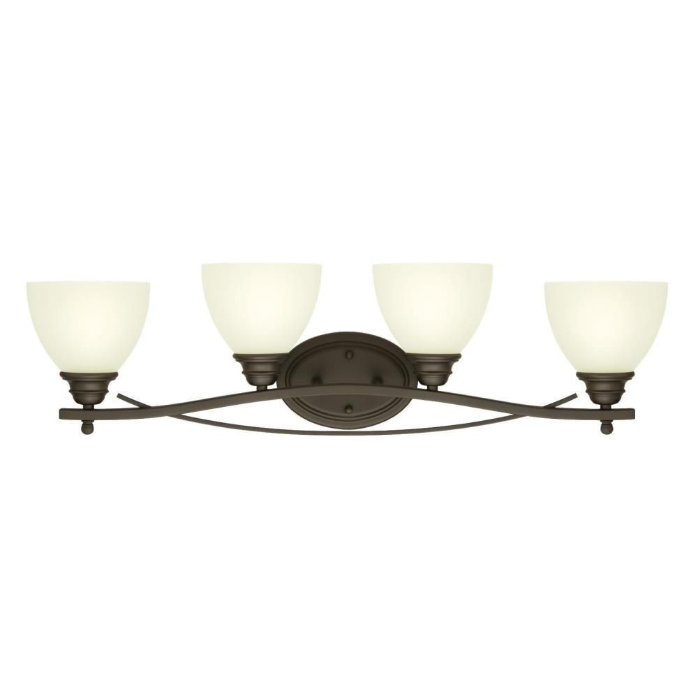 Westinghouse Elvaston 4 Light Oil Rubbed Bronze Wall Mount