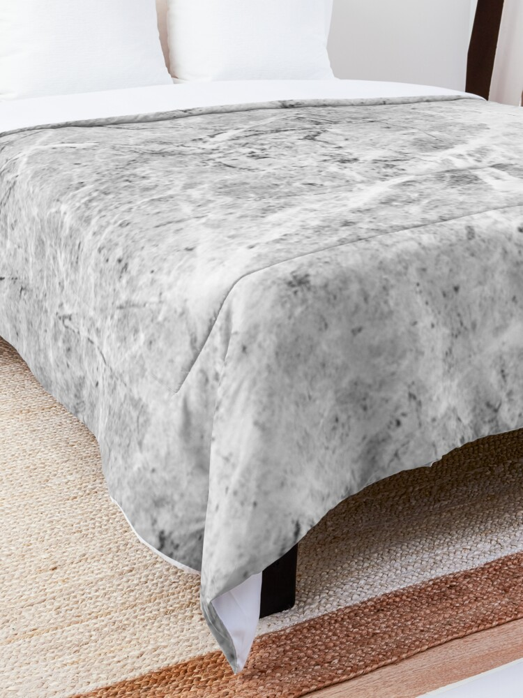 Marble Pattern Comforter By Sasharusso Nel 2020