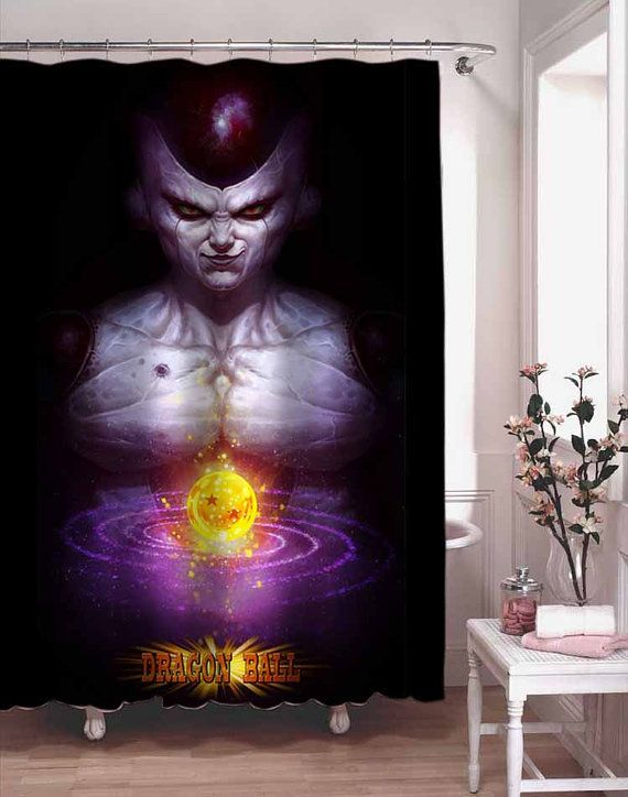 Dragon Ball Z Freeza Shower Curtain Adorabel By Kusenlawang