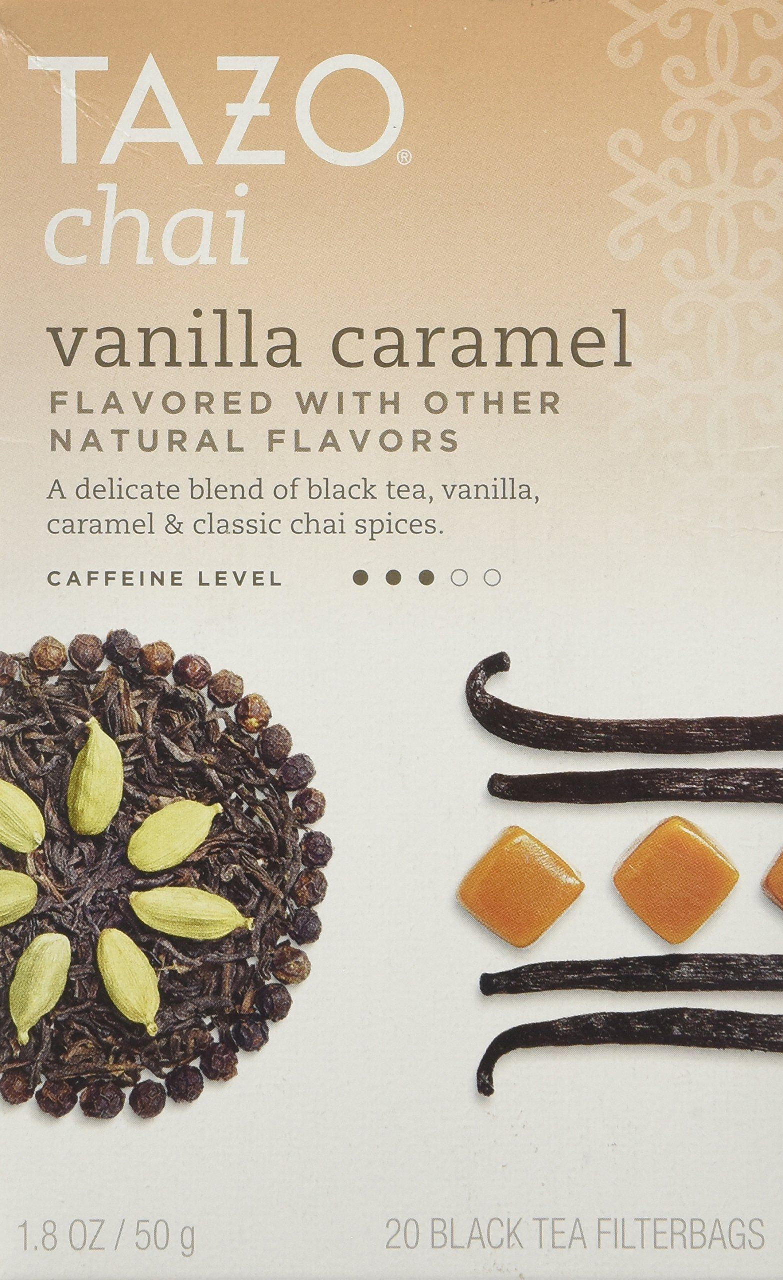 Tazo Chai Tea Vanilla Caramel 20 Bags Got A Free Sample Of To Try Love It
