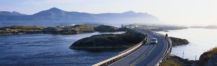 Atlanterhavsvegen. Norway