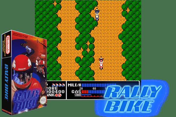 Rally Bike Usa Nintendo Nes Classic Game