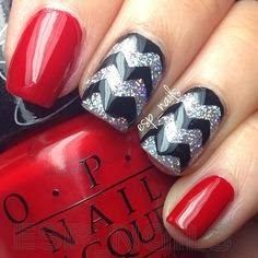 Red And Black Nails For Women 2015 Nail Art Styles Pinterest