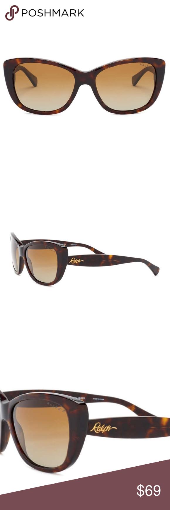 e83e17036cd Ralph Lauren Polarized Cat Eye Sunglasses NWT Women s cat eye sunglasses  with Tortoise acetate frames