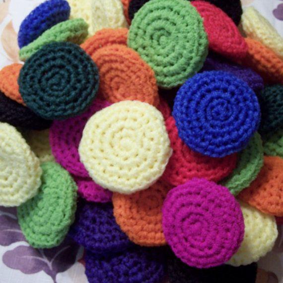 Crocheted Nylon Scrubbies