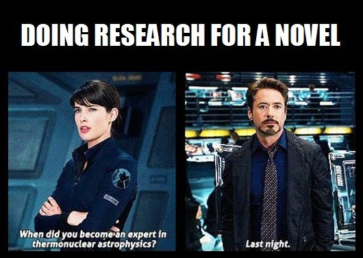Image result for writer research meme