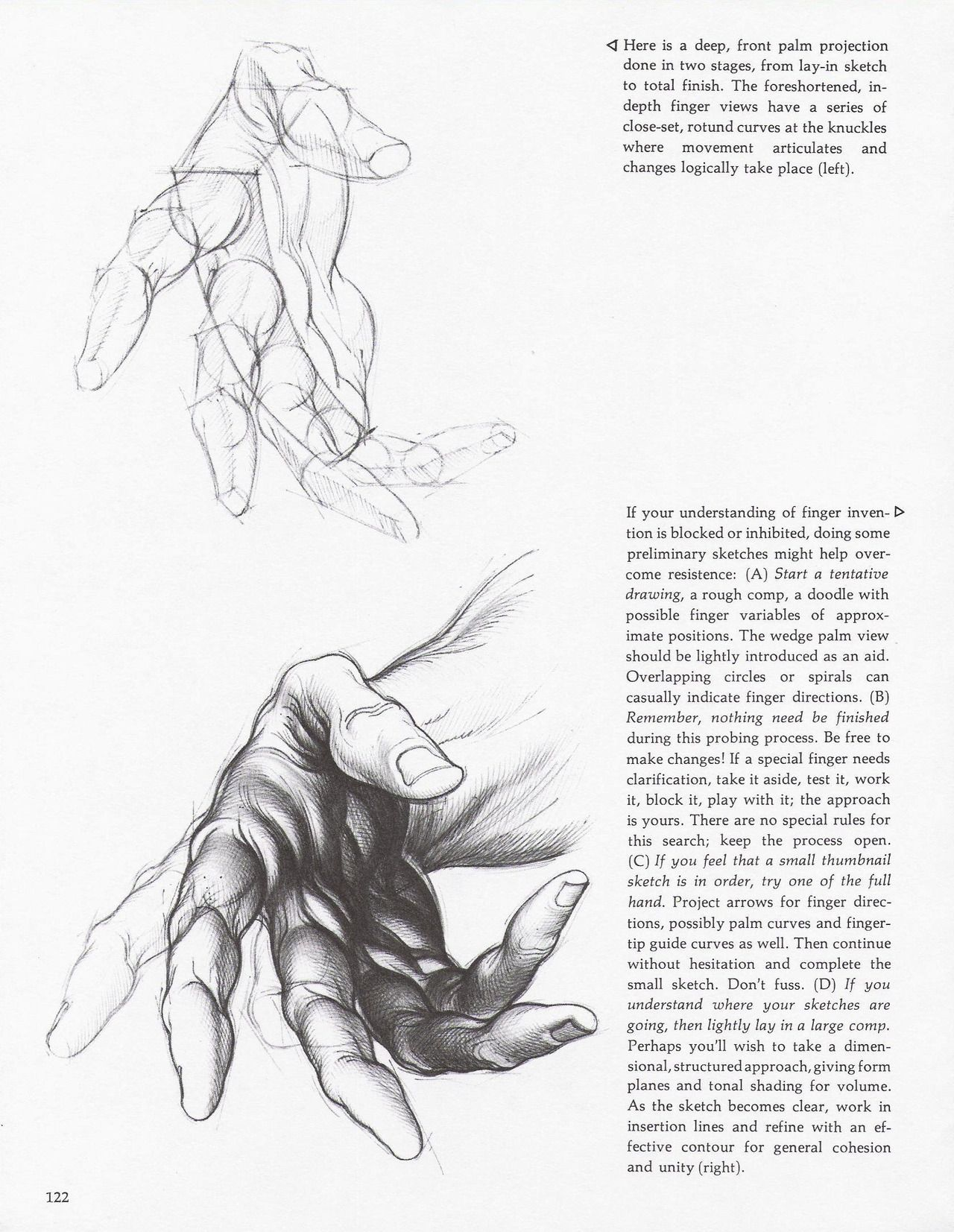 """soullesshusk: """" The Hands from Dynamic Figure Drawing by Burne Hogarth """""""