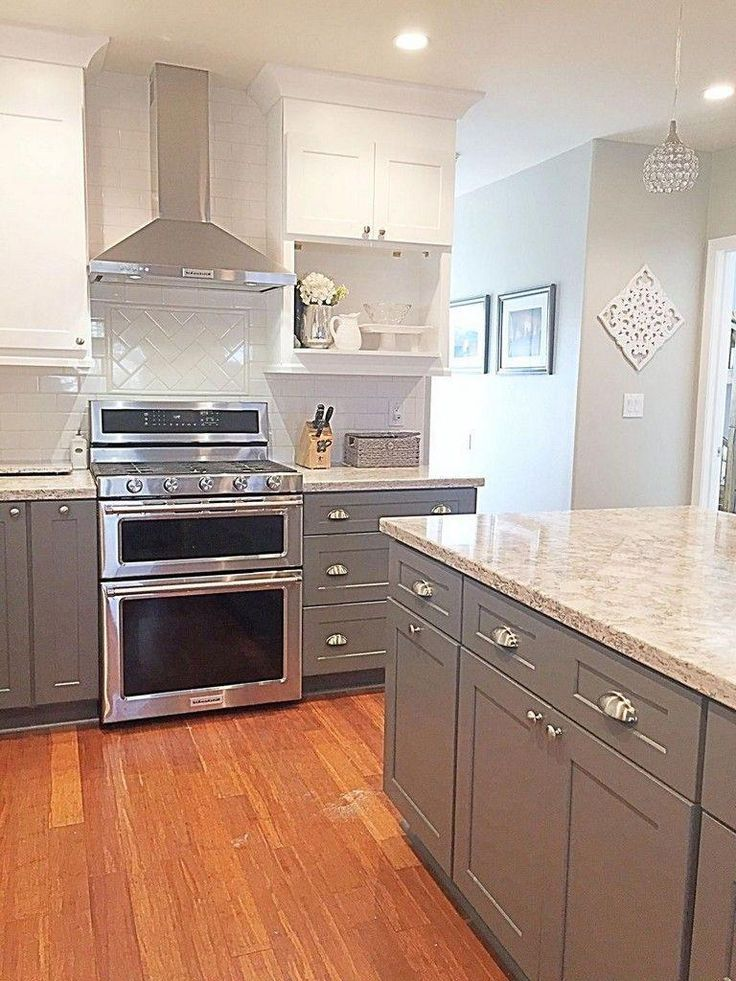Trends Two Tone Kitchen Cabinets Ideas for 2019  T