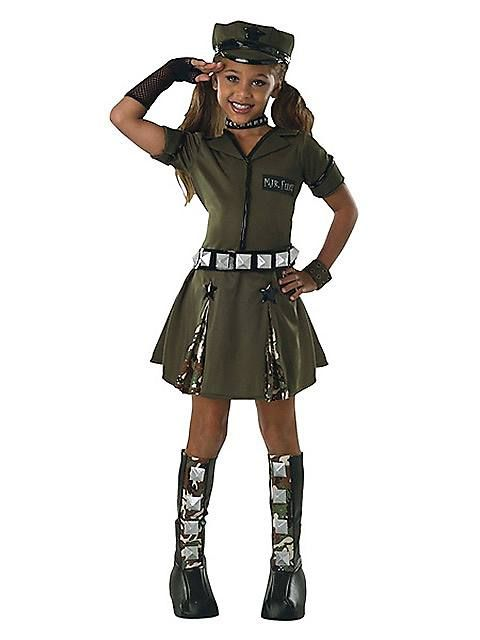 Tween Major Flirt Costume Nana Halloween stuff Pinterest Tween - halloween ideas girls