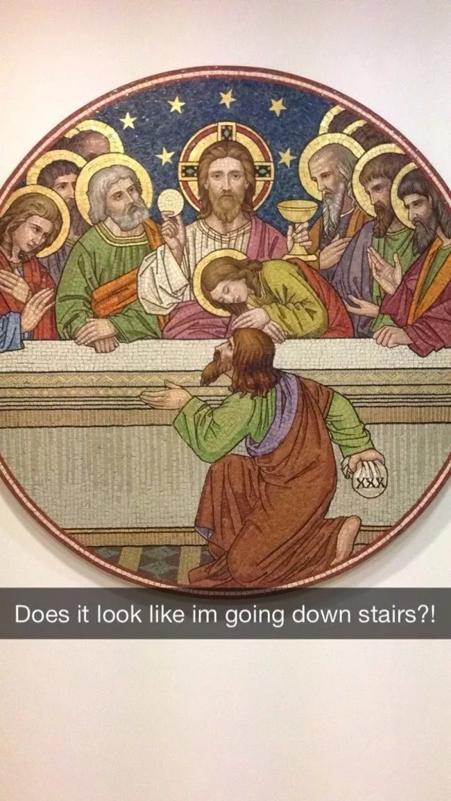 39 Art History Snapchats You Need in Your Life Right Now