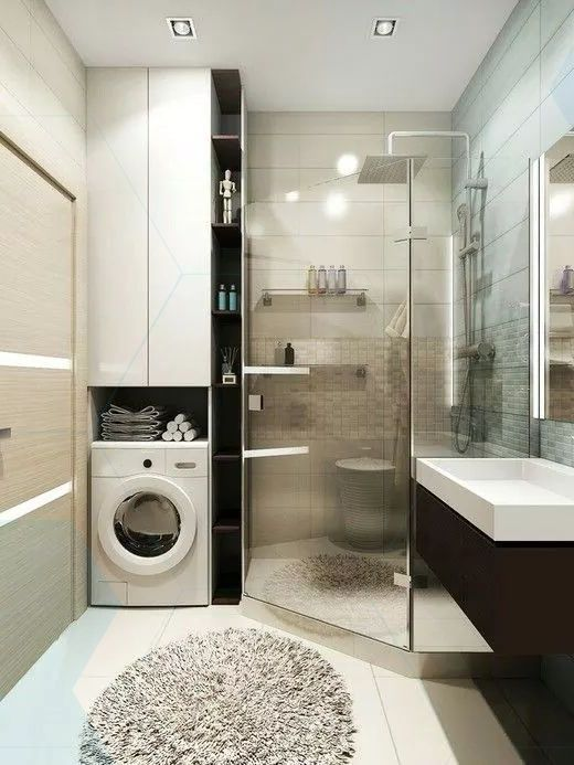 bath scores washing machine layout with images  small
