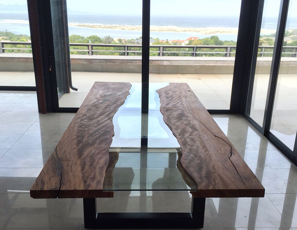 Matumi River Table Plettenburg Bay South Africa Wood Table