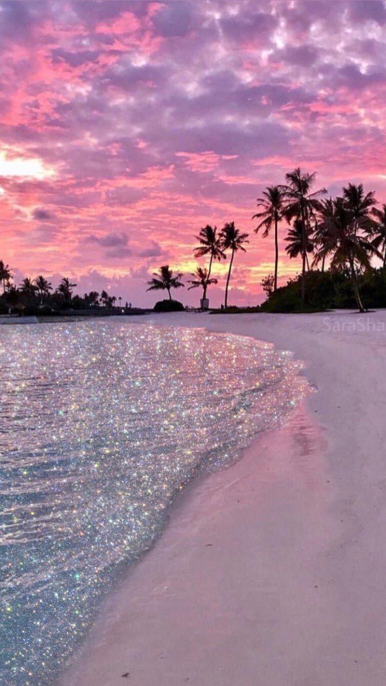 Indahnya Dengan Gambar Fotografi Pantai Latar Belakang