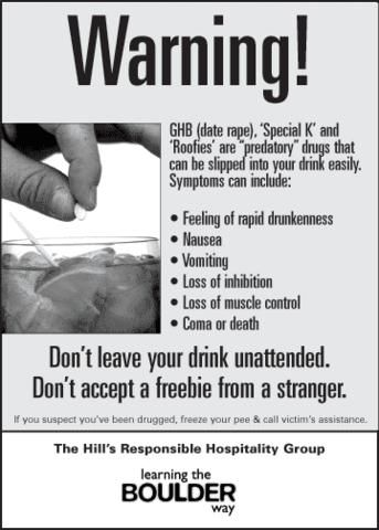 warning date rape drugs drug rape human  domestic violence