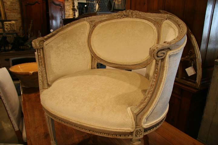 Antique Gustavian Swedish Round Barrel Bergere Chair - Antique Gustavian Swedish Round Barrel Bergere Chair Furniture