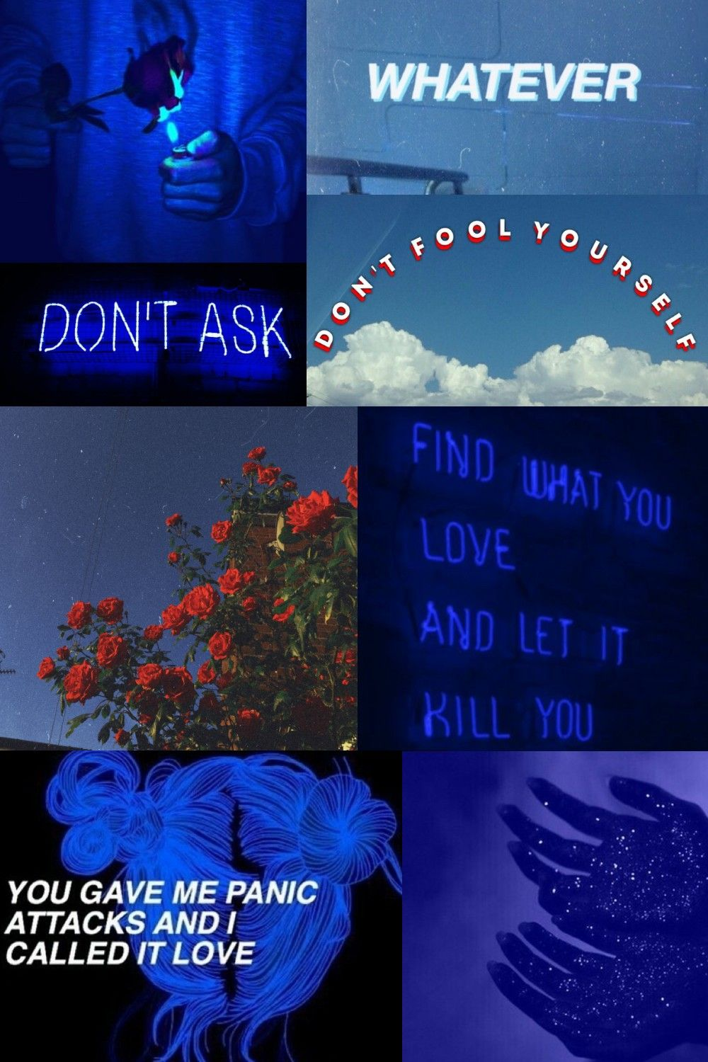 Blue Aesthetic Heartbreak Mood Board Home Remedies For Acne How Are You Feeling You Are Perfect