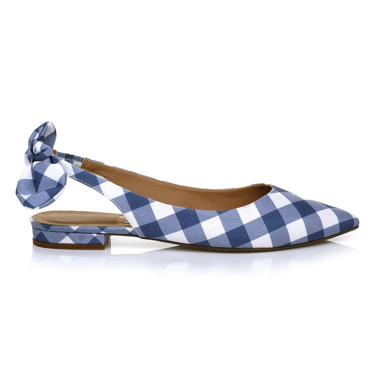 656bdd1528 Sapatilha Xadrez Jeans - UZA Shoes Sapatos Femininos